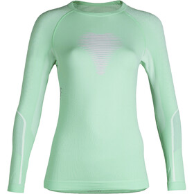 UYN Visyon UW LS Shirt Damen aqua/pink/pearl grey